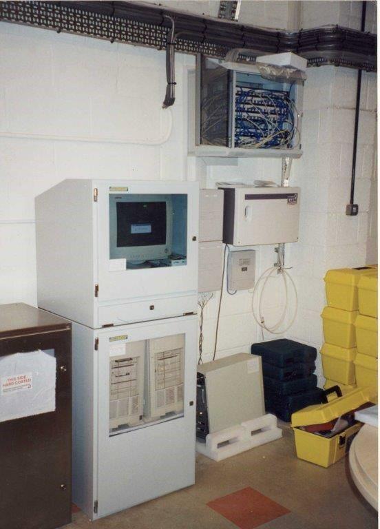Szafa na komputer przemysłowy