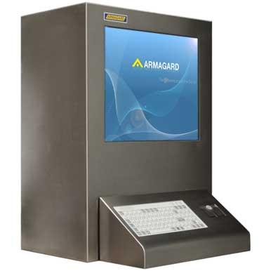 Obudowa ATEX | Ochrona monitora i komputera z ceryfikatem ATEX do zastowowania w strefie 2 | Obudowy dla stref EX zagrożonych wybuchem z ceryfikatem Atex dostarczone przez Armagard Ltd