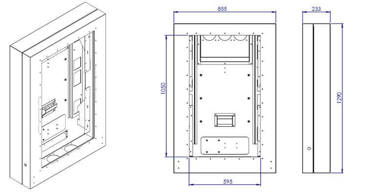 Cyfrowe menu board CAD