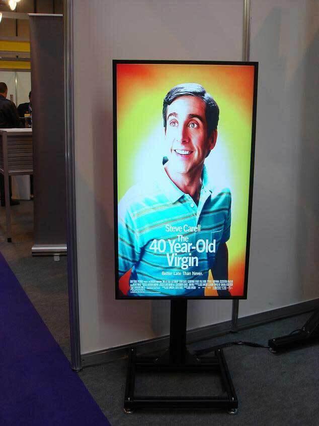 Digital Poster idealny do uzytku w kinach