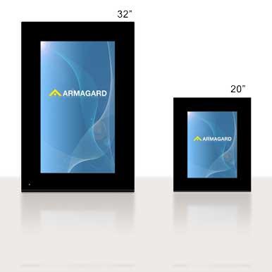 Digital Poster | digital signage advertising, digital poster totem/LCD z wbudowanym media player | Armagard Ltd