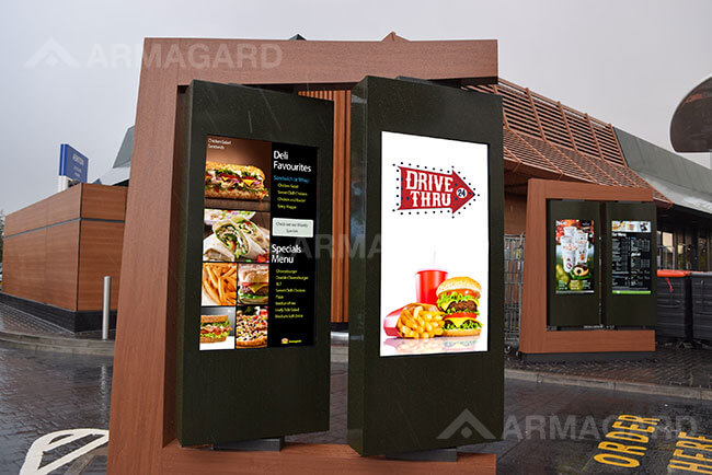 'Drive Thru Menu boardy'