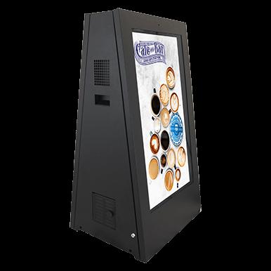 Interaktywny kiosk cyfrowy potykacz | Armagard Ltd