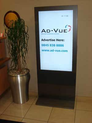 Kiosk multimedialny idealny do uzytku w bankach