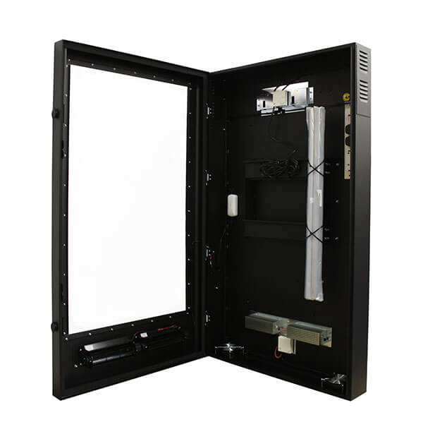Kiosk zewnętrzny multimedialny prawo przegladac otwarte