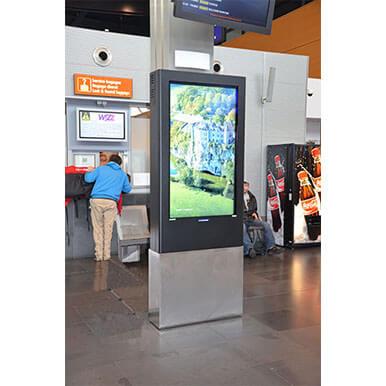 Kiosk zewnętrzny multimedialny | PDS-55-TO-P