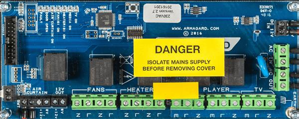 'Zobacz Mikroprocesowa płyta sterująca Armagard'