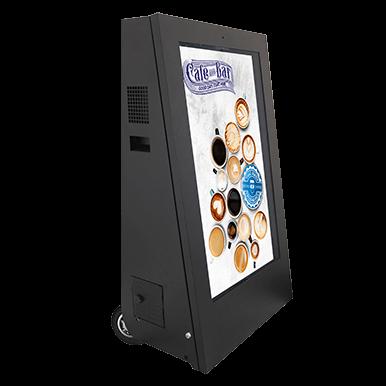 Mobilne monitory digital signage | Armagard Ltd
