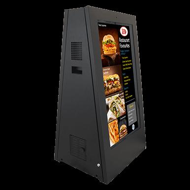 Mobilny zewnętrzny stand reklamy audiowizualnej | Armagard Ltd