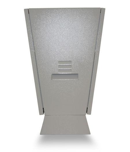 Monitor reklamowy dystrybutor paliwa widok z prawej strony