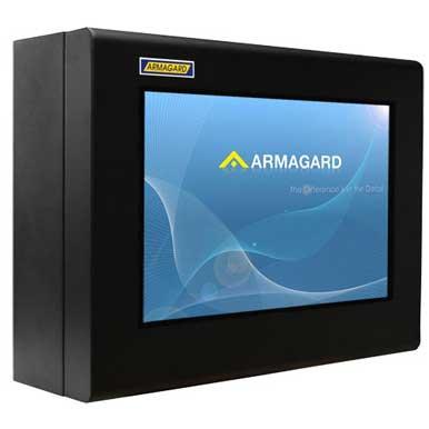 Monitor zewnętrzny | Ochrona Monitora LCD lub telewizora LCD w warunkach zewnętrznych lub w środowiskach wrogich i przemysłowych | Armagard Ltd