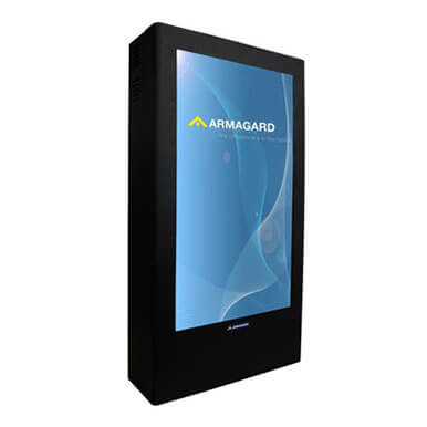 Monitory reklamowe | digital advertising display, cyfrowy wyświetlacz reklam | Armagard Ltd