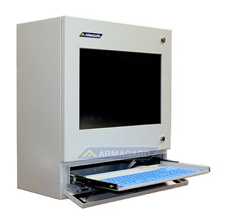 Dotykowy panel sterowania na linię produkcyjną taca na klawiature