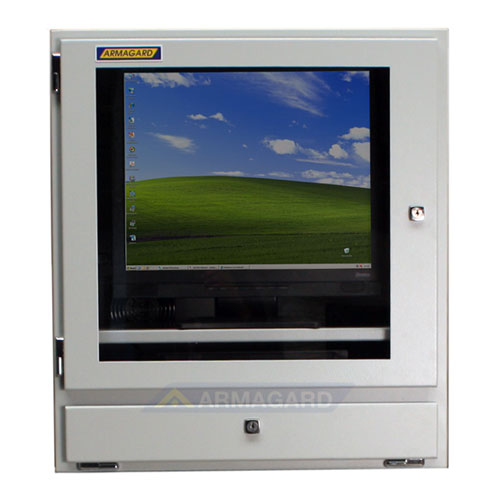 Szafa na komputer - widok z przodu