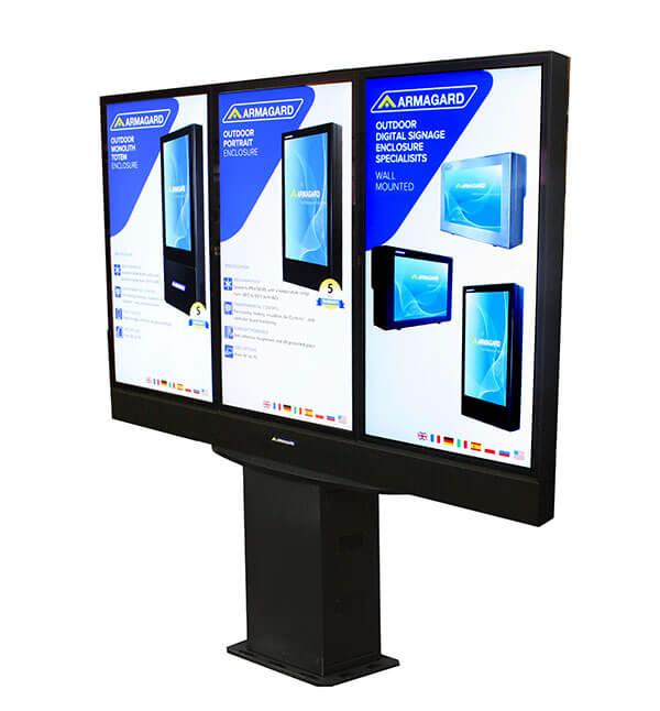 Samsung Monitor Zewnętrzny widok z prewej strony