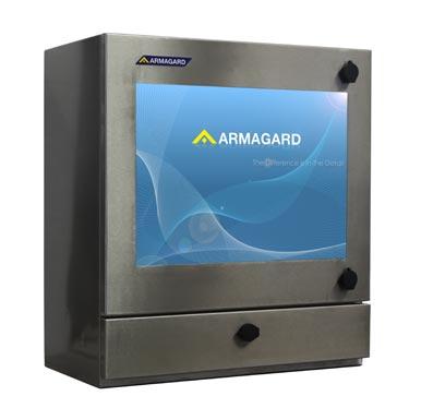 Szafa na komputer ze stali nierdzewnej | przemysłowa obodowa wodoodporna komputera, wodoodporna obudowa komputera, Armagard Ltd