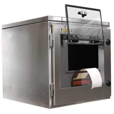 Szafy do drukarki zebra | ochrona IP65 do drukarki | Wodoodporna szafa do drukarki | Armagard Ltd