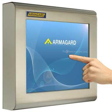 Dotykowy monitor | Wodoszczelny ekran dotykowy LCD | Armagard Ltd