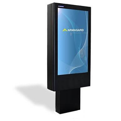Totem LCD zewnętrzny | Armagard Ltd