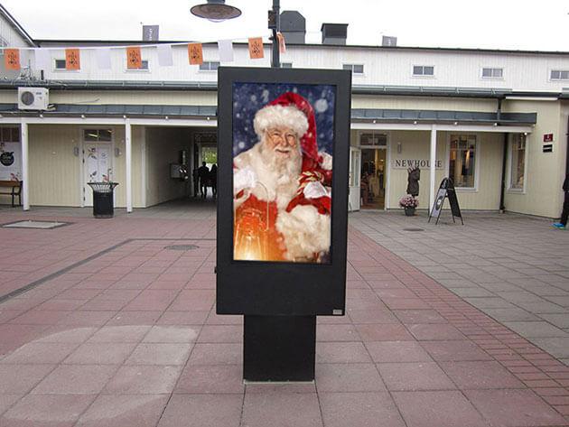 'Zobacz Totem reklamowy LCD'