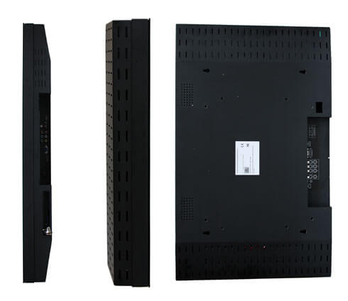 Totem reklamowy LCD groupshot tylu monitora