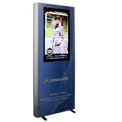 Totem reklamowy LCD | Digital Signage system | Monitory reklamowe | Armagard Ltd