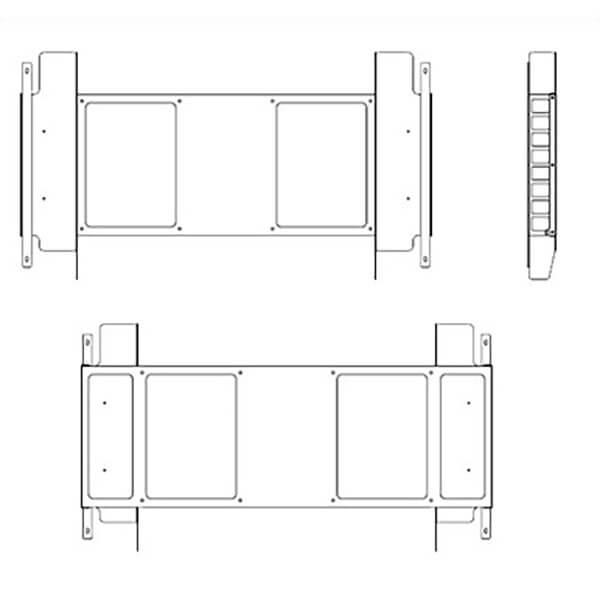 Samsung oh55f uchwyt nascienny schemat