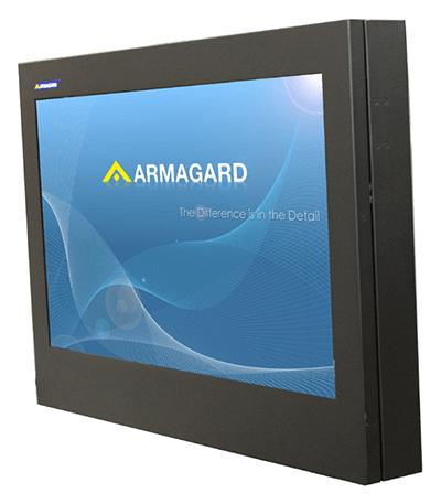 'Zobacz Wąska obudowa wyświetlacza LED Armagard'