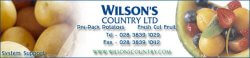 'Wilson's country logo'