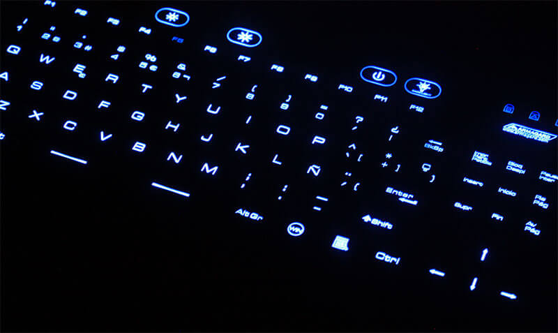 wodoodporna klawiatura z touchpadem ze złączem