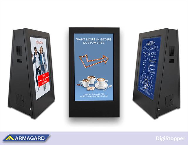 Wybór przenośnego, zasilanego bateryjnie rozwiązania digital signage do kawiarni