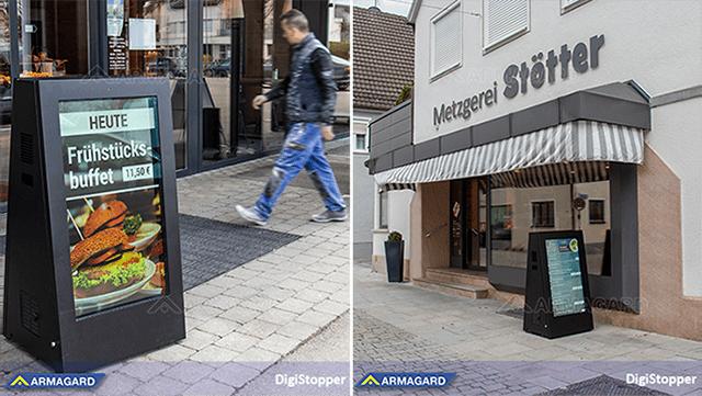 Przedstawiamy przenośny, zewnętrzny DigiStopper™ od Armagard