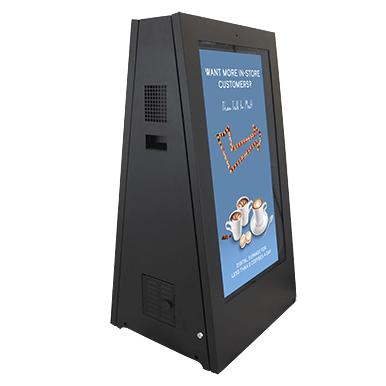 Zewnętrzny informator multimedialny na baterie | Armagard Ltd