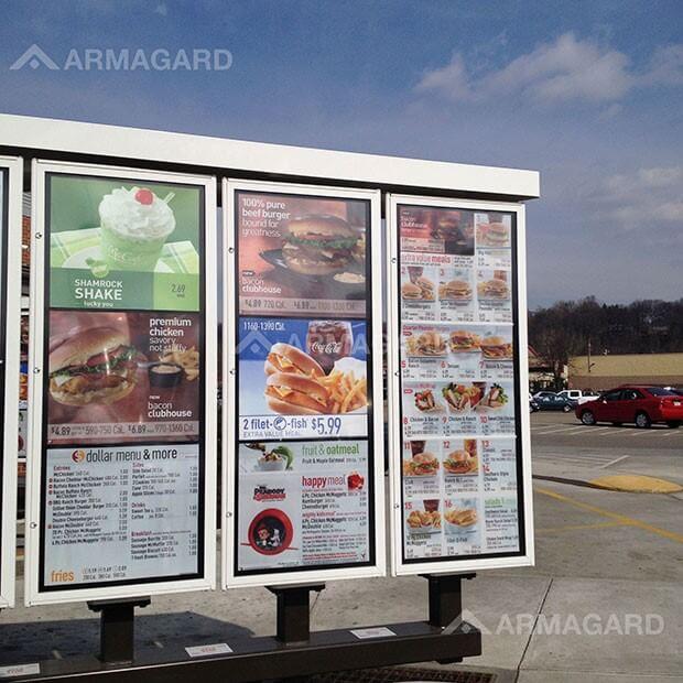 tablice menu na Drive Thru nie zachęcają