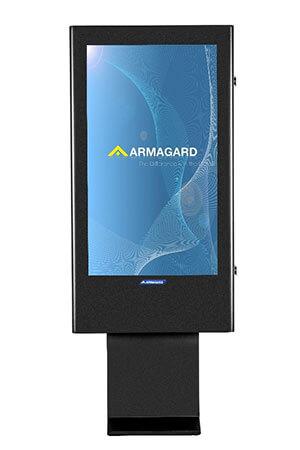 Armagard's 47 inch totem obudowa digital signage