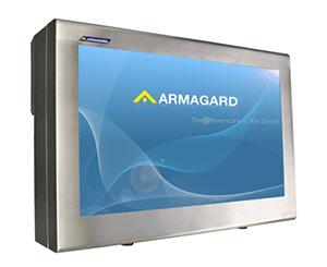 Armagard's 55 inch calowa obudowa ze stali nierdzewnej