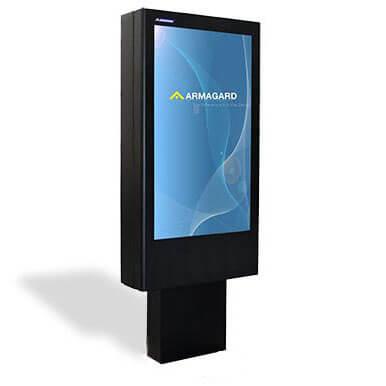 Totem LCD zewnętrzny