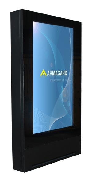 """72"""" calowy ekran LCD digital signage obudowa"""
