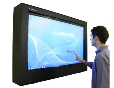 Digital signage monitor dotykowy