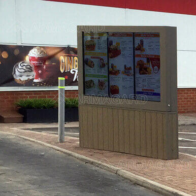 Drive Thru Menu Boardy