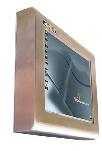waterproof touch screen