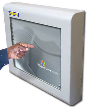 Przemyslowy monitor dotykowy