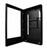 Monitory reklamowe  - widok z boku, z otwartmi drzwiami | PDS-42