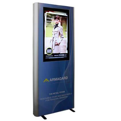 Totem reklamowy LCD , Monitor reklamowy