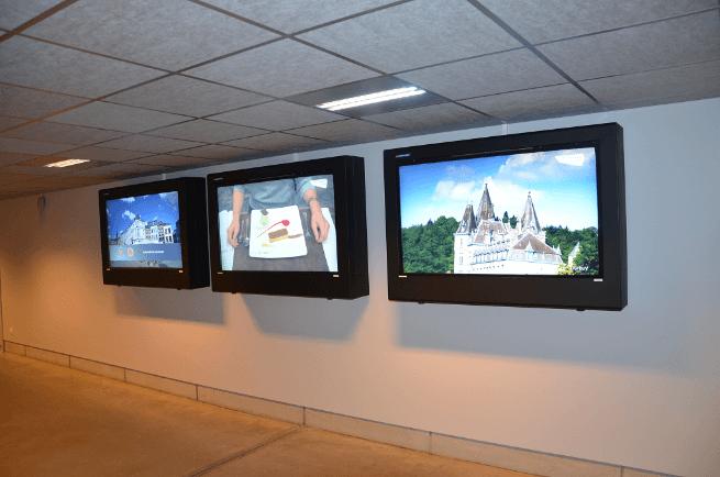 Obudowa LCD, Zastosowanie wewnętrzne